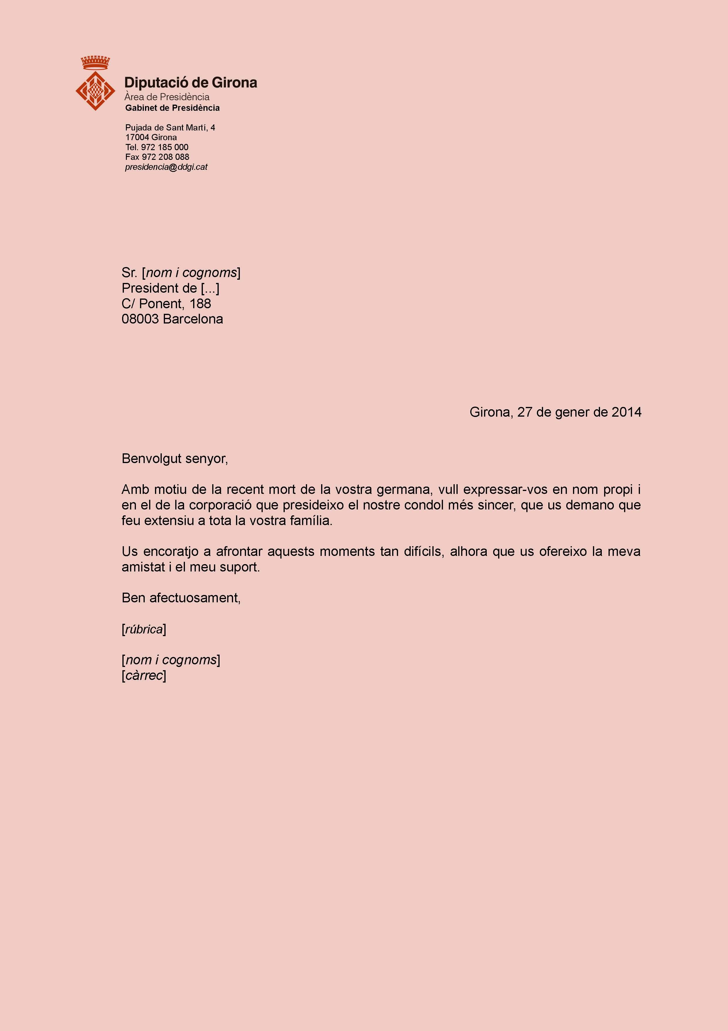 Llibre D Estil De La Diputació De Girona