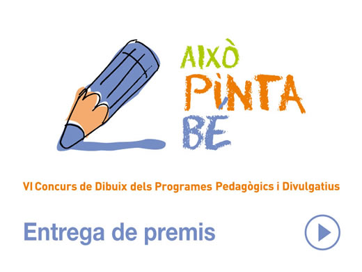 Entrega de premis del VI concurs de dibuix i relats dels Programes Pedagògics