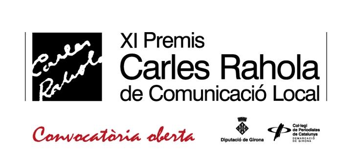 XI Premis Carles Rahola de Comunicació Local