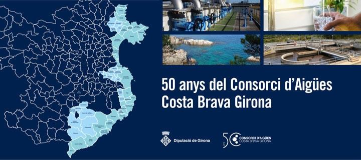 50 anys del Consorci d'Aigües Costa Brava Girona