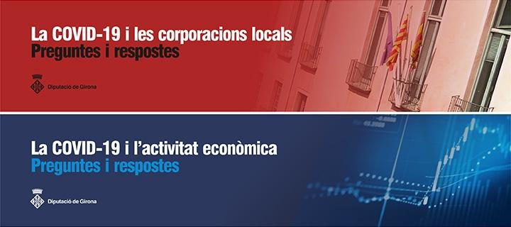 La COVID-19: informació d'interès per a les corporacions locals i sobre l'activitat econòmica