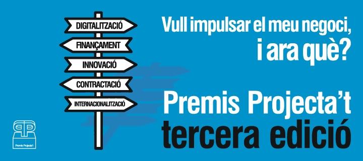 Tercera edició dels premis Projecta't