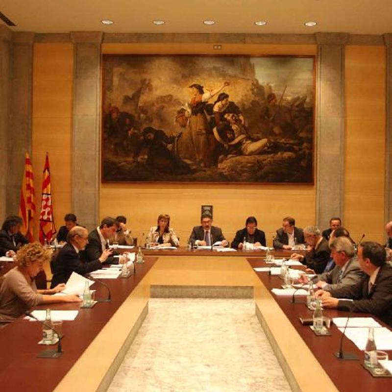 Foto 1 : La Diputació aprova un nou Reglament d'ús de la llengua catalana