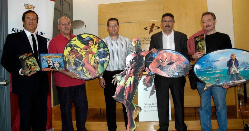 Foto 1 : L'Ajuntament de Torroella de Montgrí i el Patronat de Turisme Costa Brava Girona creen el Premi Internacional de Còmic Costa Brava