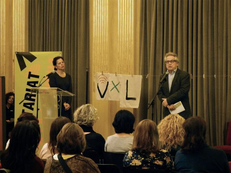 Foto 3 : <p>Girona celebra els deu anys del &ldquo;Voluntariat per la llengua&rdquo; a la ciutat</p>
