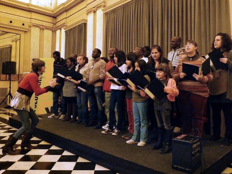 Foto 1 : <p>Girona celebra els deu anys del &ldquo;Voluntariat per la llengua&rdquo; a la ciutat</p>