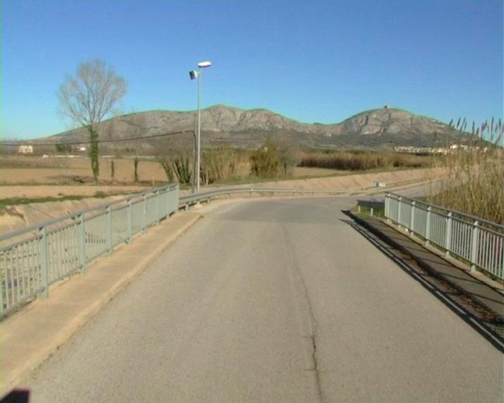 Foto : Carretera de Gualta.