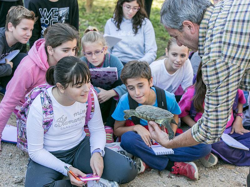 Foto 4: <p>&ldquo;la Caixa&rdquo;, la Diputaci&oacute; de Girona i el Consorci Salines Bassegoda milloren diversos h&agrave;bitats fluvials de l&rsquo;Alt Empord&agrave;</p>
