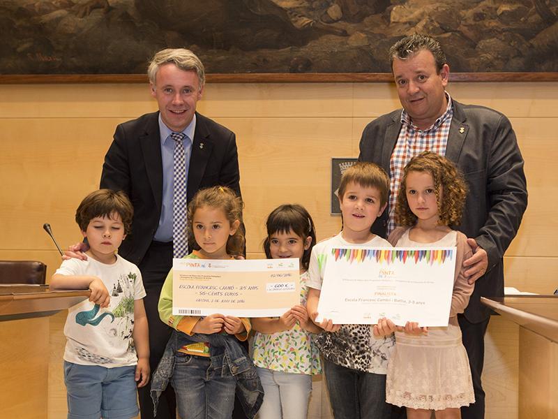Foto 5: Finalistes de l'Institut escola Francesc Cambó i Batlle