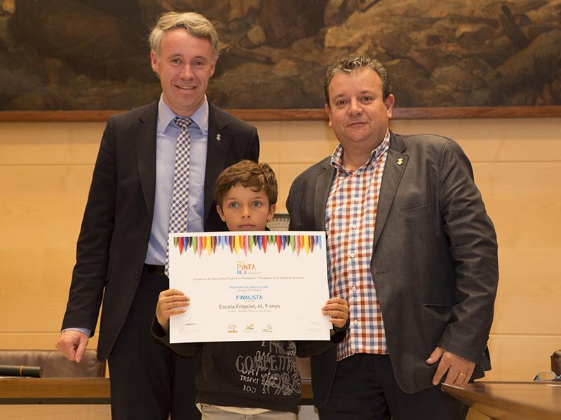 Foto 3 : Finalista de l'Escola Frigolet