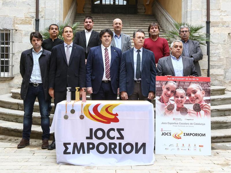 Foto 1 : <p>La tercera edici&oacute; dels Jocs Emporion reunir&agrave; prop de 4.000 practicants d'activitats esportives al Pla de l'Estany</p>