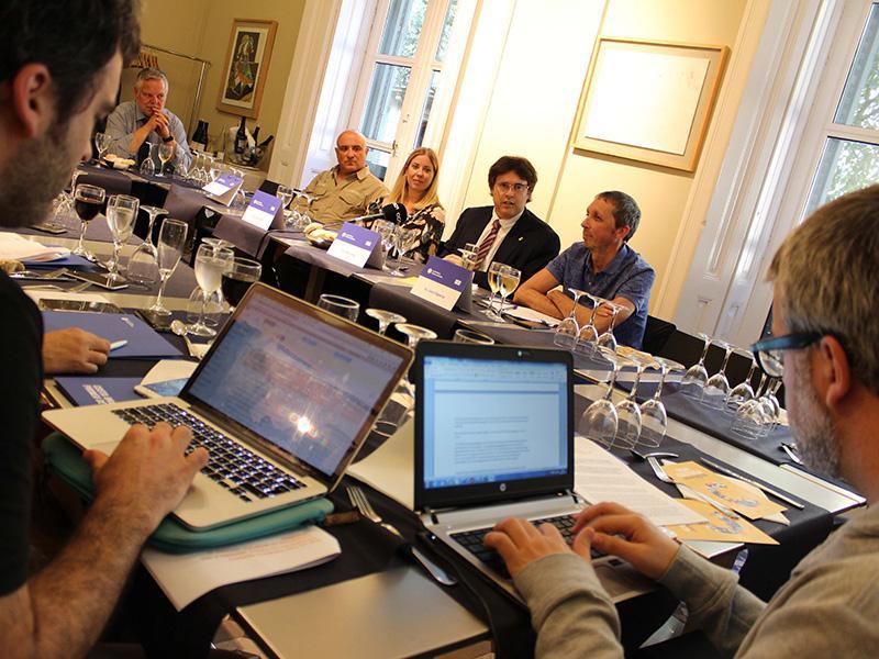 Foto : Presentació de la programació de SOM Cultura a Girona i Barcelona.
