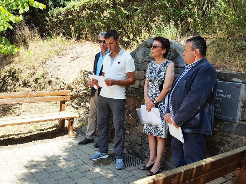 Foto 1 : <p>Nou itinerari forestal, pel <em>silvetum</em> de Fontmartina, al Parc Natural del Montseny</p>