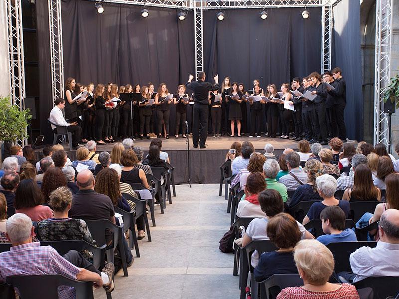 Foto 3 : Concert de dilluns 15 de maig. Cor Jove del Conservatori. Fotògraf: Martí Artalejo.
