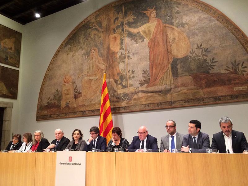 Foto 1 : <p>Les administracions catalanes s'uneixen per fer front a la pobresa energ&egrave;tica</p>