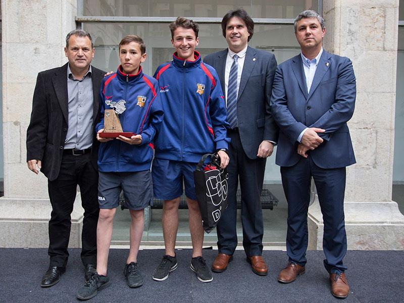 Foto 2 : MIC Futbol. Categoria B (cadet): UE Quart.