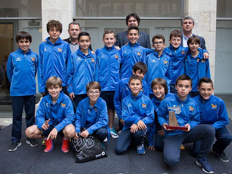Foto 4: MIC Futbol. Categoria D (aleví F-11): FE Figueres.