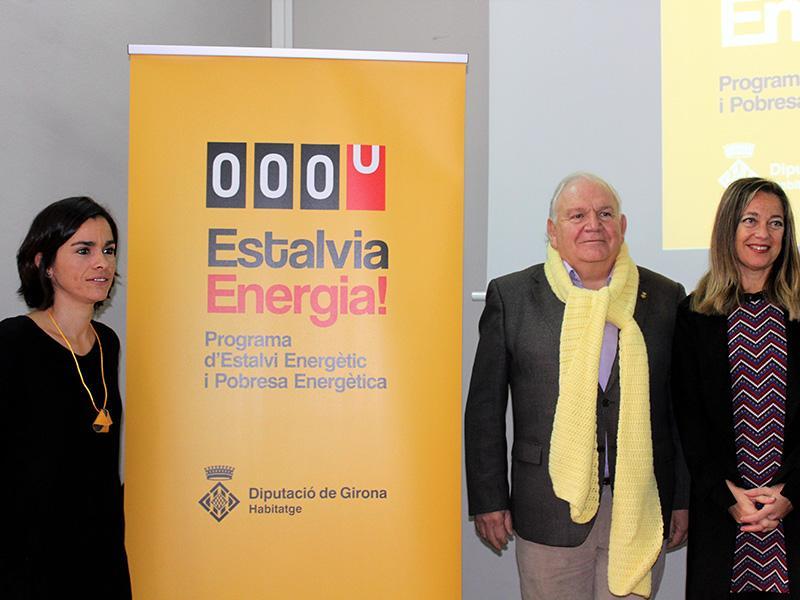 Foto 1 : La Diputació de Girona presenta el Programa d'Estalvi Energètic i Pobresa Energètica de la Demarcació de Girona