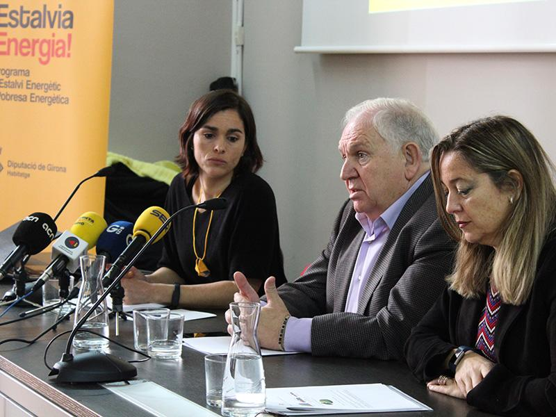 Foto 2 : La Diputació de Girona presenta el Programa d'Estalvi Energètic i Pobresa Energètica de la Demarcació de Girona