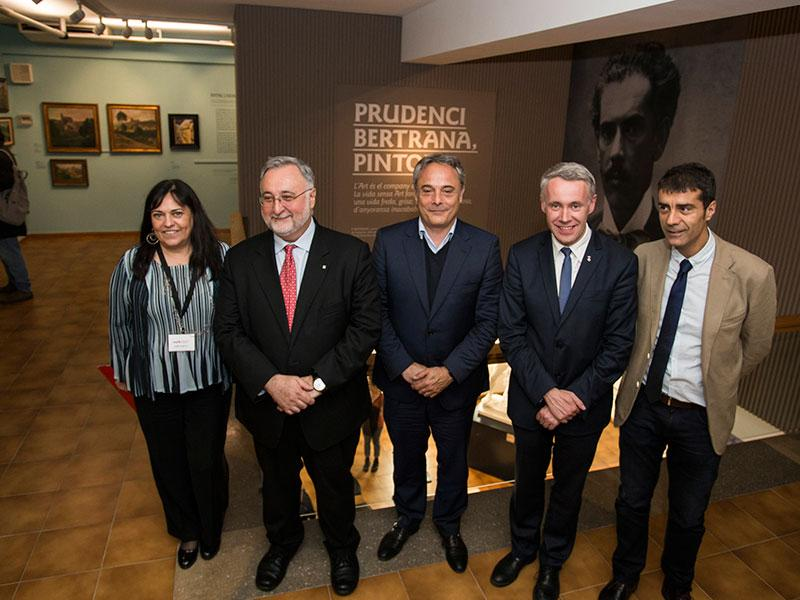 Foto 1 : <p>Inaugurada l&rsquo;exposici&oacute; &laquo;Prudenci Bertrana, pintor&raquo; al Museu d&rsquo;Art</p>