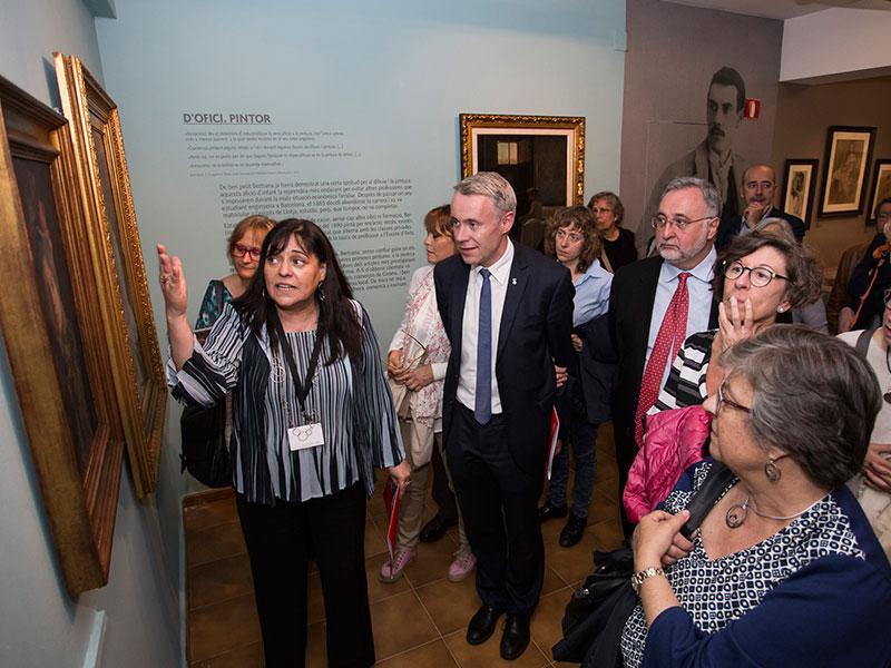 Foto 2 : <p>Inaugurada l&rsquo;exposici&oacute; &laquo;Prudenci Bertrana, pintor&raquo; al Museu d&rsquo;Art</p>