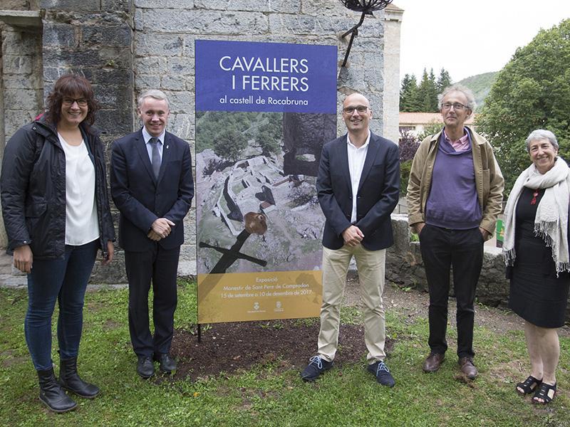 Foto 1 : <p>Arriba a Camprodon l'exposici&oacute; sobre la recuperaci&oacute; arqueol&ograve;gica del castell de Rocabruna</p>