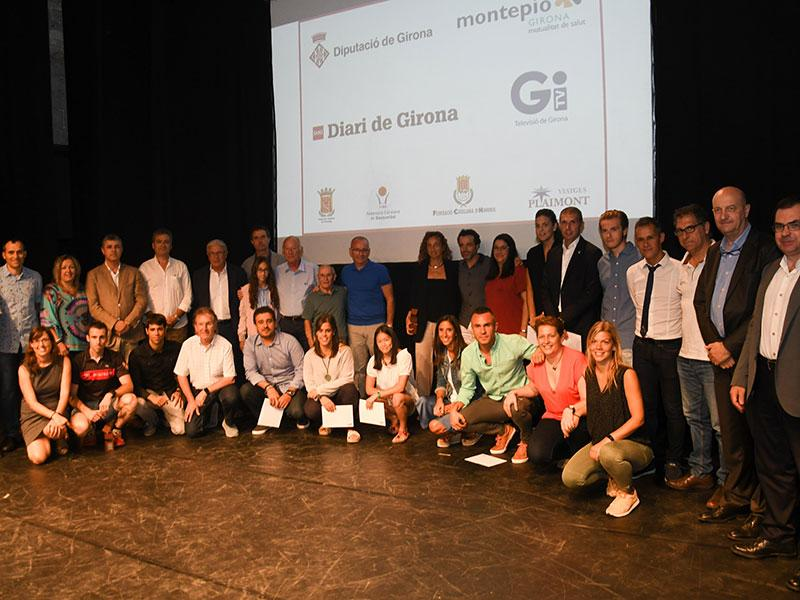 Foto 1 : <p>Amagat, Granell, Pons, Coris i Vives, premis &laquo;Girona &eacute;s esport 2017&raquo;</p>
