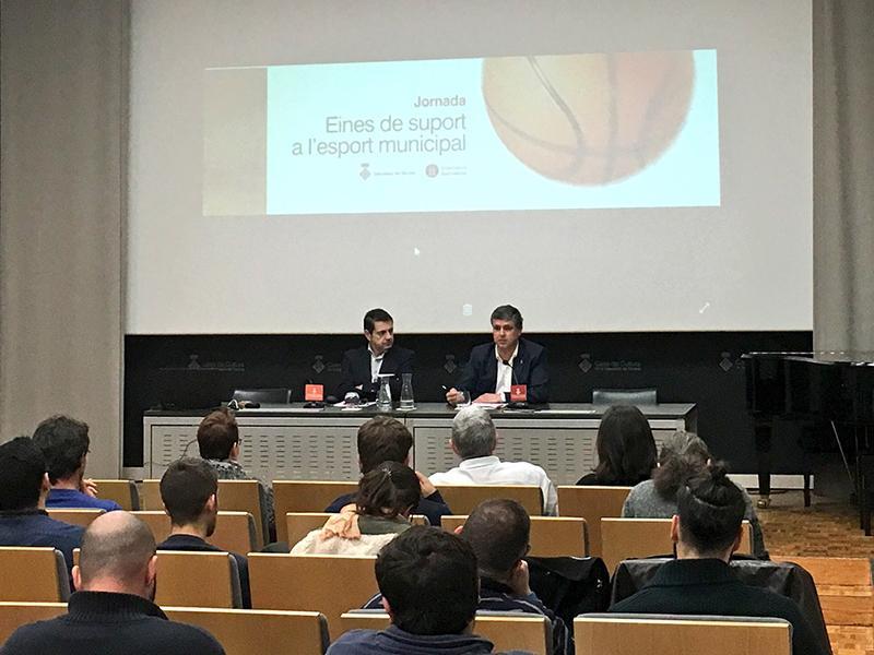Foto 1 : <p>Les diputacions de Girona i de Barcelona organitzen una jornada d&rsquo;eines de suport a l&rsquo;esport municipal</p>