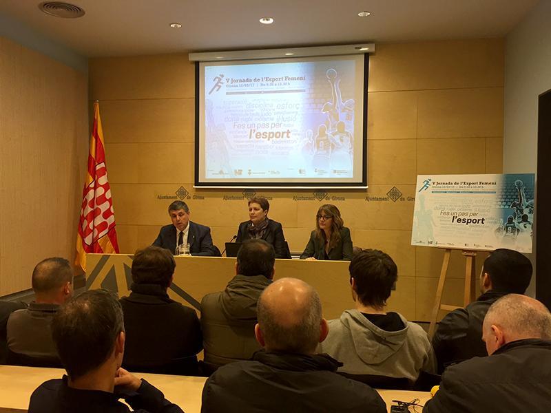 Foto 1 : <p>La V Jornada de l&rsquo;Esport Femen&iacute; es far&agrave; el 12 de mar&ccedil; a Girona</p>