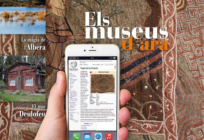 Foto 1 : <p>Surt el n&uacute;mero 302 de la<em> Revista de Girona,</em> dedicat als museus gironins</p>