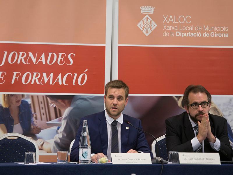 Foto : <p>D'esquerra a dreta: Jordi Camps i Raül Rabionet.Fotògraf: Martí Artalejo.</p>