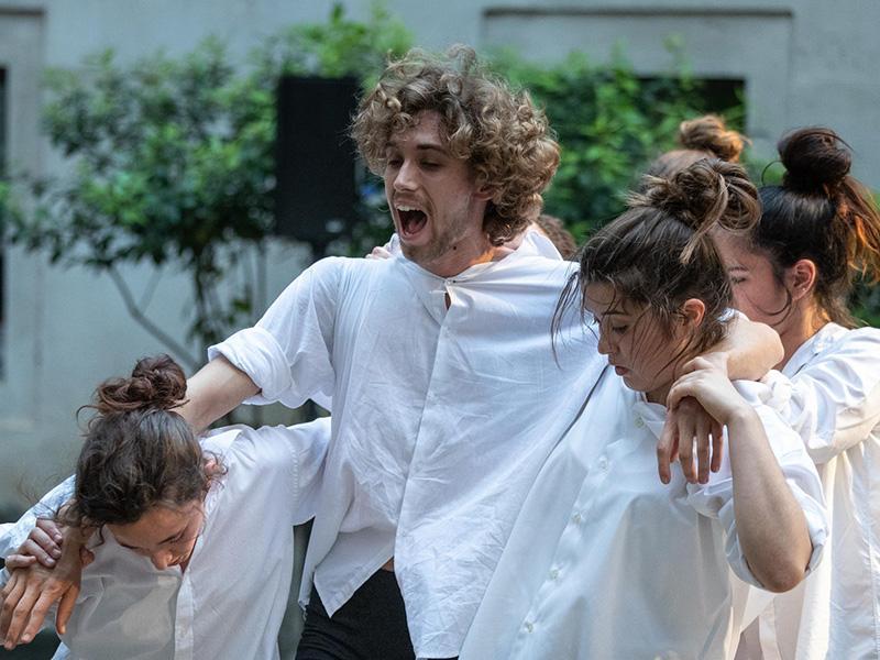 Foto : Jove Companyia de Dansa de Celrà. Foto: Eddy Kelele