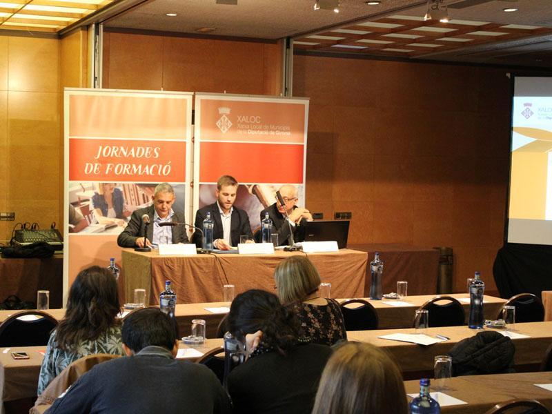 Foto 1 : Sisena sessió del VI Seminari d'actualització jurídica i dret local de XALOC<br><br>