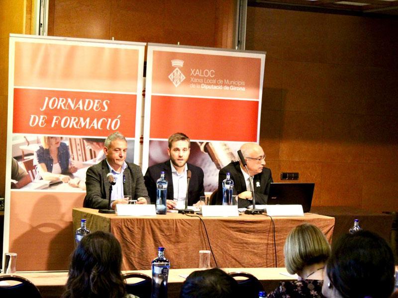 Foto 3 : Sisena sessió del VI Seminari d'actualització jurídica i dret local de XALOC<br><br>