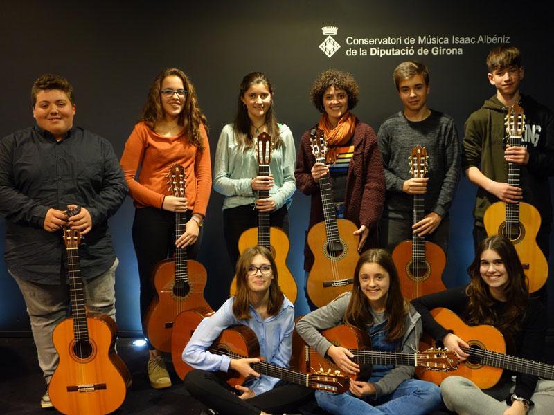 Foto : Ensemble de Guitarres del Conservatori