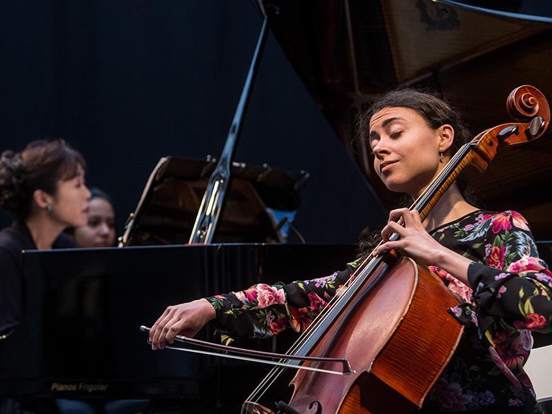 Foto 11: El concert de la Fundació Pau Casals dona el tret de sortida al Pati Cultural 2018