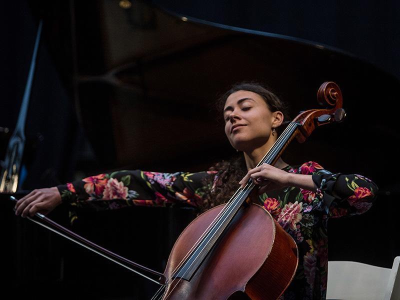 Foto 6: El concert de la Fundació Pau Casals dona el tret de sortida al Pati Cultural 2018
