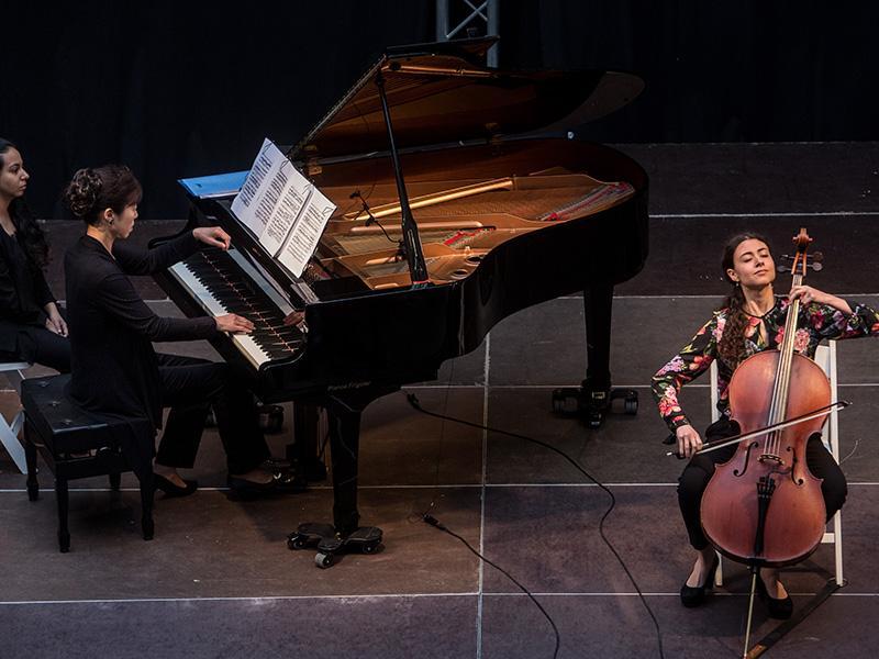 Foto 7: El concert de la Fundació Pau Casals dona el tret de sortida al Pati Cultural 2018