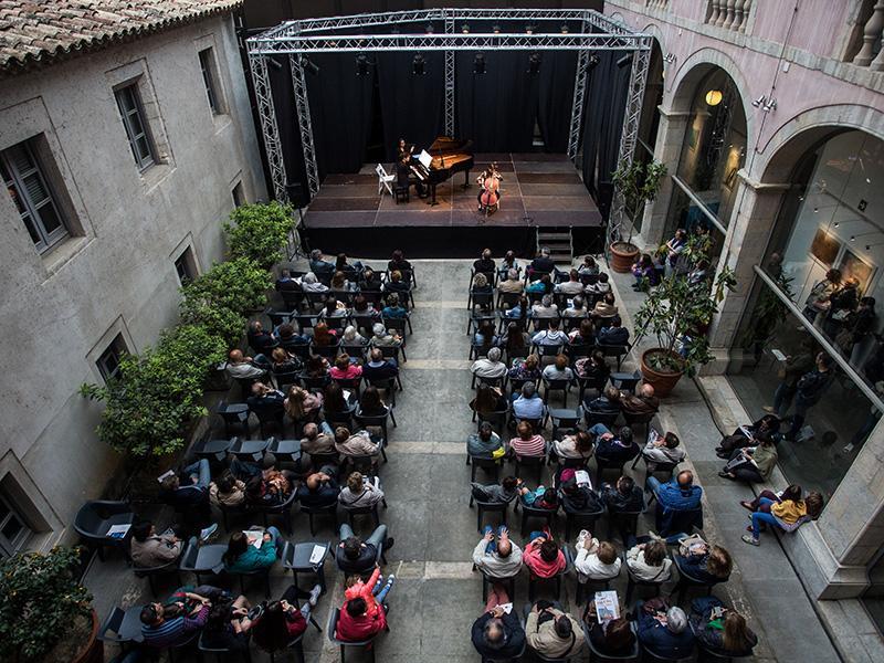 Foto 19: El concert de la Fundació Pau Casals dona el tret de sortida al Pati Cultural 2018