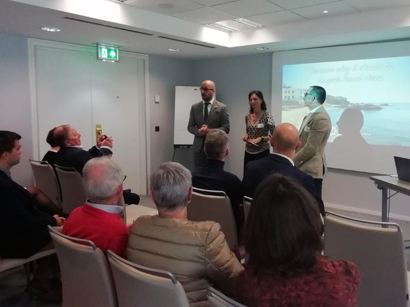 Foto 1 : La Costa Brava es promociona com a destinació enogastronòmica a Brussel·les, Bèlgica<br>