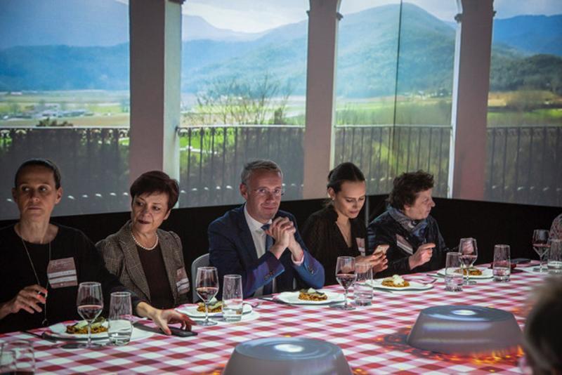 Foto 2 : L'experiència sensorial TastEmotion presenta l'oferta turística de la Costa Brava i el Pirineu de Girona a una seixantena d'agents de viatges i prescriptors alemanys