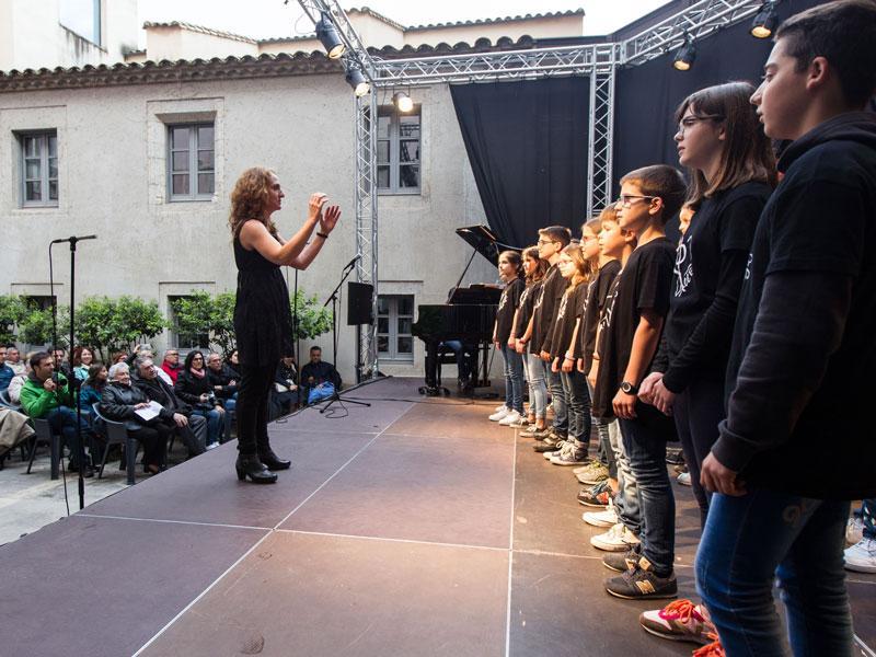 Foto 18: El concert de la Fundació Pau Casals dona el tret de sortida al Pati Cultural 2018
