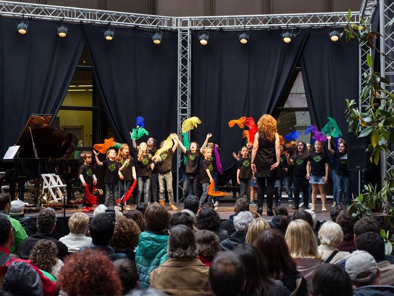 Foto 16: El concert de la Fundació Pau Casals dona el tret de sortida al Pati Cultural 2018