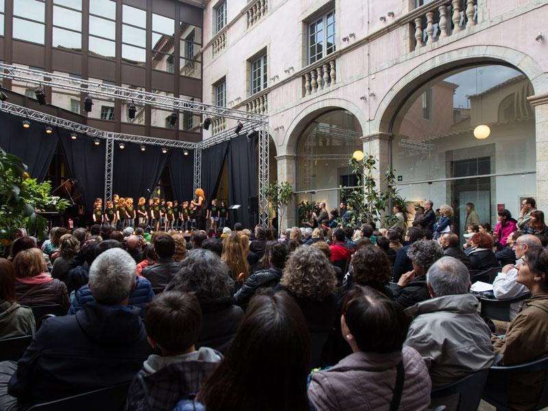 Foto 10: El concert de la Fundació Pau Casals dona el tret de sortida al Pati Cultural 2018