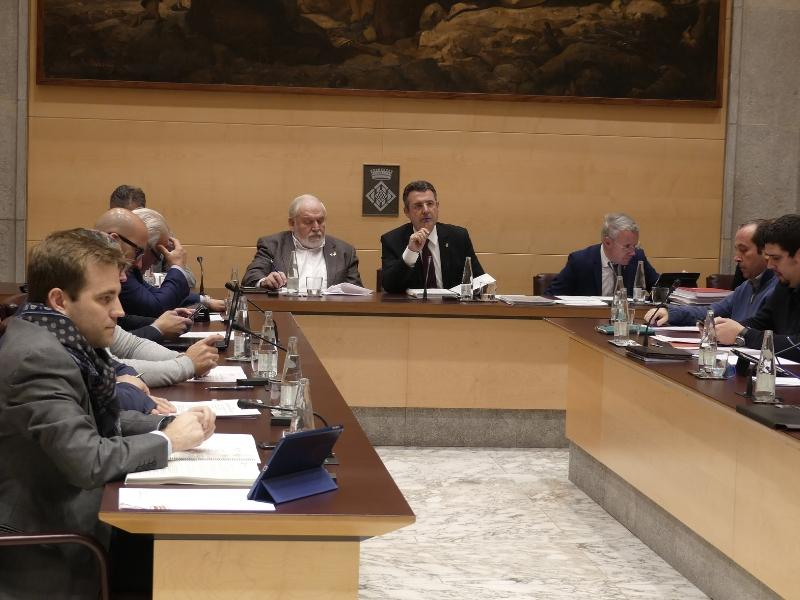 Foto 2 : La Diputació de Girona aprova un pressupost general de 141 milions d'euros per a l'exercici de 2019, 8 milions més elevat que el de l'any passat<br>
