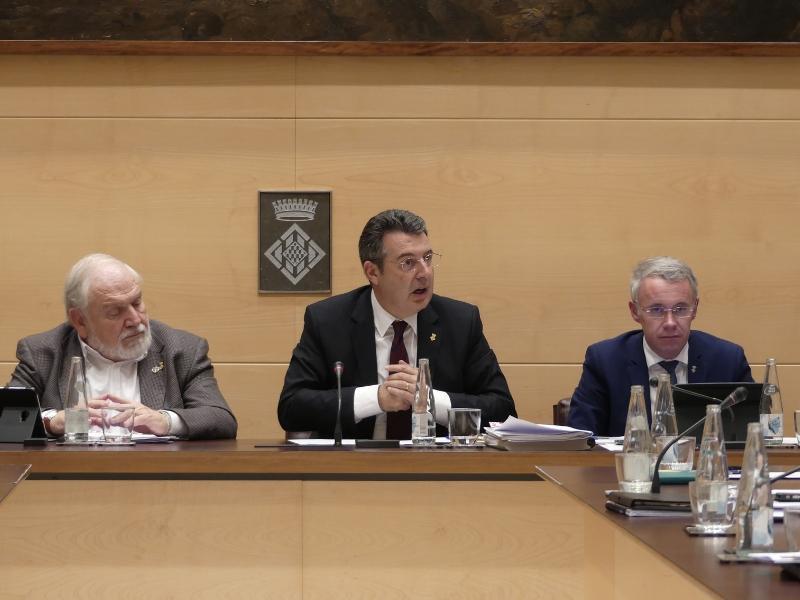 Foto 4: La Diputació de Girona aprova un pressupost general de 141 milions d'euros per a l'exercici de 2019, 8 milions més elevat que el de l'any passat<br>