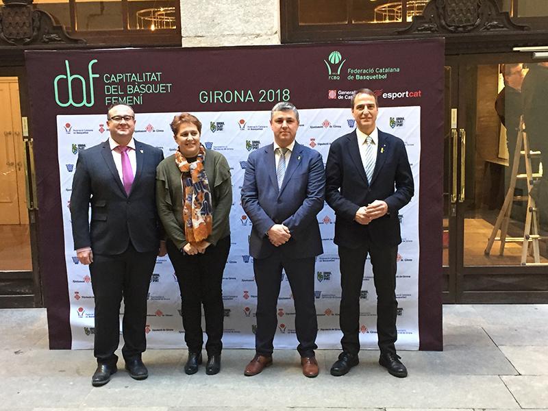Foto 1 : Girona, capital catalana del bàsquet femení 2018