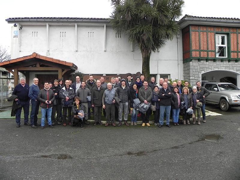 Foto 1 : SEMEGA visita les instal·lacions d'Aberekin al País Basc