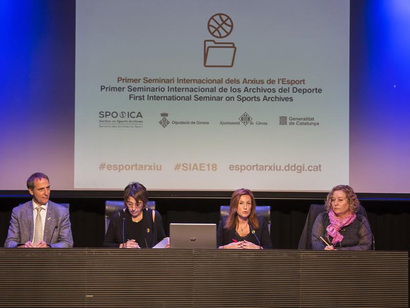 Foto 2 : Girona acull el primer Seminari internacional dels arxius de l'esport