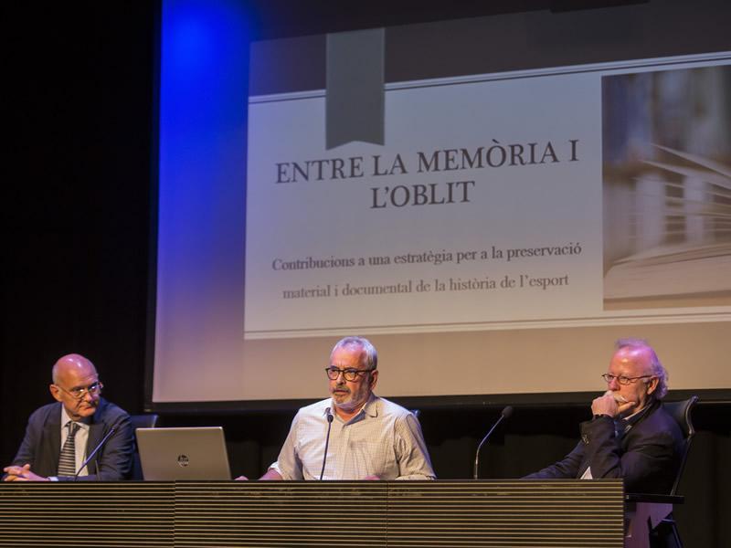 Foto 4: Girona acull el primer Seminari internacional dels arxius de l'esport